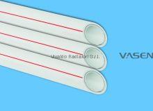 Труба VASEN полипропиленовая 50мм PPR-Al-PPR PN2.5 (трубы полипропиленовые армированные алюминием PPR/AL/PPR)